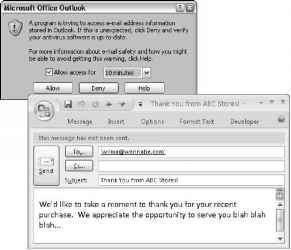 Sending EMail via Outlook - Access 2007 VBA - Engram 9 VBA Scripts