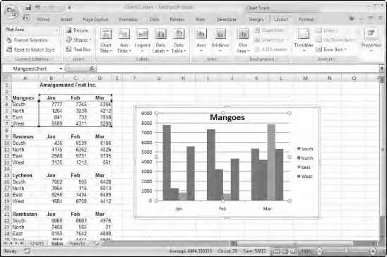 Excel 2007 Userforms Charts