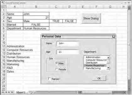 display excel table in userform vba displaying a