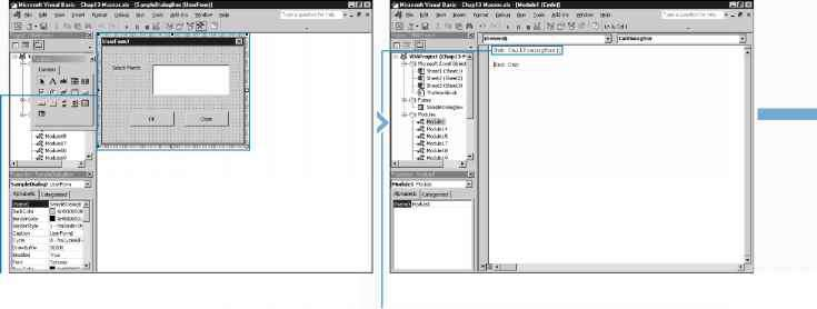 Call A Custom Dialog Box From A Procedure - Excel VBA Programming