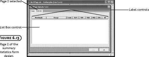 Custom Dialog for Quick Stats - Excel VBA Programming
