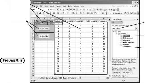 writing text in cells in an Excel 2007 table