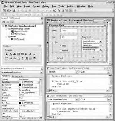 Excel Vba Userform Projekte