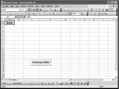 Excel Vba Design