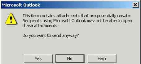 Outlook Security - Outlook 2002 VBA - Engram 9 VBA Scripts